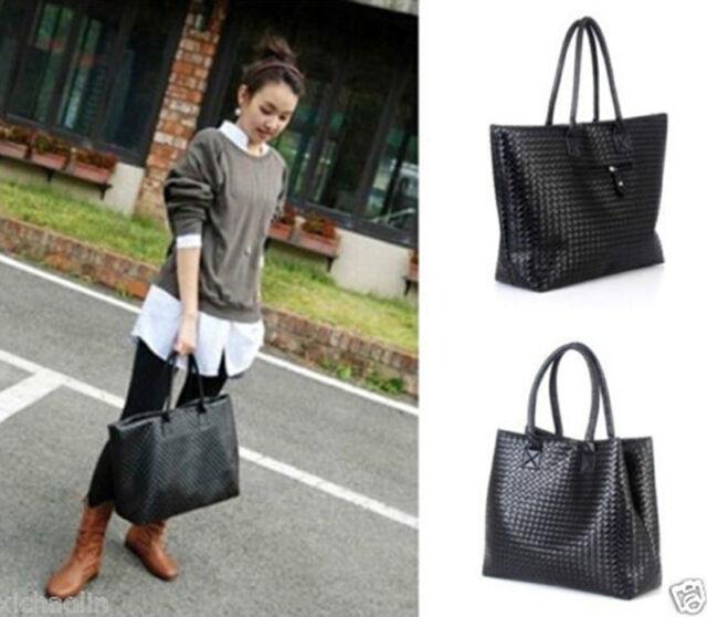 Fashion Women PU Leather Messenger Hobo Handbag Shoulder Bag Lady Tote Purse  GL