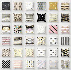 Polyester-flower-pillow-case-cover-sofa-car-throw-waist-cushion-cover-Home-Decor