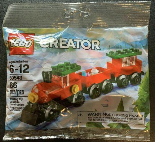 Christmas Train Lego Creator Polybag 30543 Retired Factory Sealed Poly Bag 2018