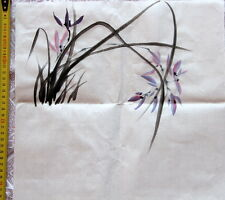 Tableau-peinture chinoise-chinesische Malerei-Chinese Painting-orchidée