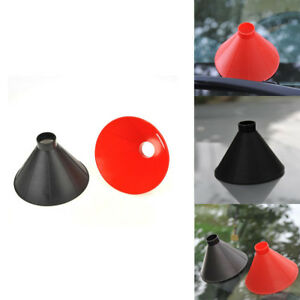 2-in-1-Car-Windshield-Ice-Scraper-Tool-Cone-Shaped-ABS-Round-Funnel-Remover-Snow