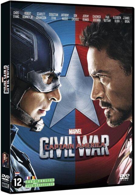 DVD Captain America - Civil War (Nuovo Imballato)