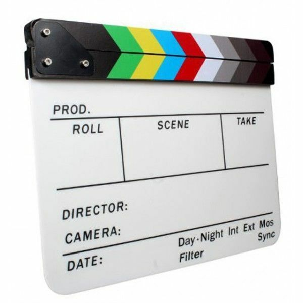 Claqueta Director de Cine acrílica