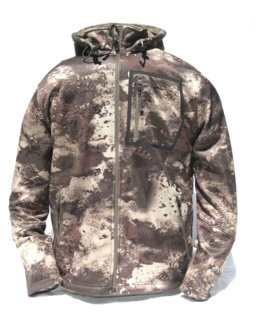 b0496b3db2ab4 Cabela's Men's Lookout Series Fleece Hooded Silent Hunting Jacket O2 Octane  Camo