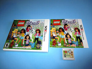 Lego Friends Nintendo 3ds Xl 2ds Game Wcase Manual 883929331079
