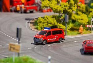 Faller-Car-System-161563-VW-T5-Feuerwehr-Spur-H0-Neu-2017