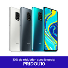 "Xiaomi Redmi Note 9 3Go 64Go Téléphone 6,53"" Dual SIM NFC Version Global 5020mAh"