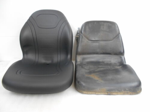 High Back Black Seat for John Deere 655 755 855 /& 955 Compact Tractor