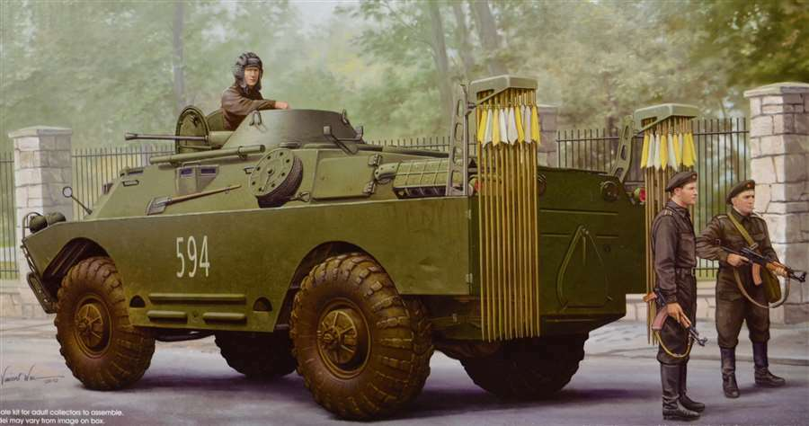 05513 Trumpeter 1 35 Model NBC Early Reconnaissance Vehicle Tank Kit Armored Car