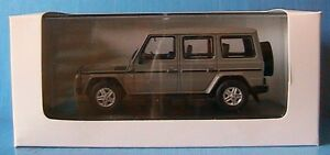 MERCEDES-BENZ-G500-V8-1993-IXO-1-43-GERMANY-DEUTSCHLAND-GRIS-GREY-W463-WHITEBOX