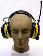 Radio Headset Headphone AM FM Noise Blocking Reducing Nascar Race Racing Scanner
