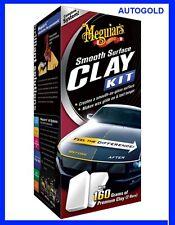 MEGUIARS ClayBar Kit Smooth Surface Professionale Clay Bar Lucida Carrozzeria