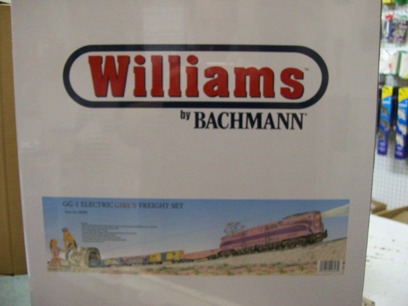 Williams GG1 Girls Freight Train Set Factory Sealed w  Shipping autoton Molto raro