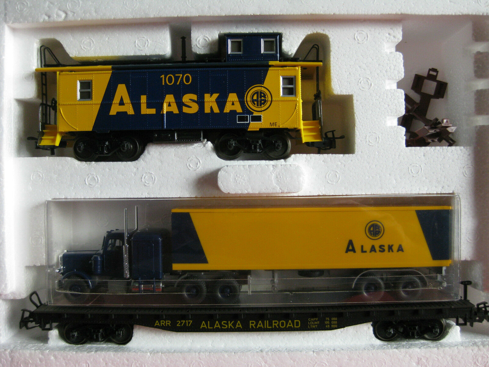 Märklin pista h0 4857 carri merci-Set ALASKA USA (bo91)