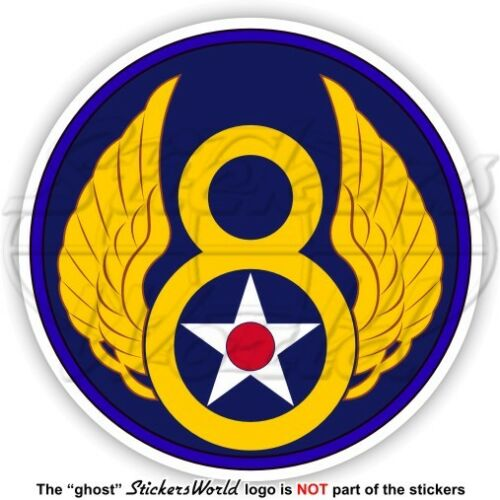 Stati Uniti USAF VIII AF SAC USAAF Ottava Forza Aerea Emblema WWII 8AF Adesivi