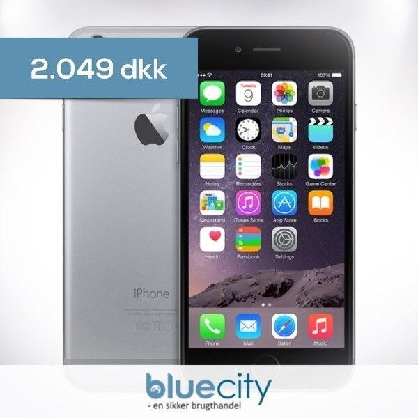 iPhone 6, GB 128, sort