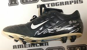 c1b6c80ab7 Image is loading Nate-Kaeding-Signed-Chargers-Football-Game-Used-Cleats-