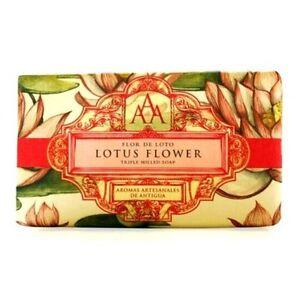 Aromas-artesanales-De-Antigua-AAA-floreale-SAPONE-BAR-200-gr-Lotus-Flower