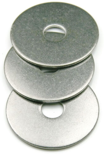 Qty 1000 Stainless Steel Fender Washer #6 x 5//8