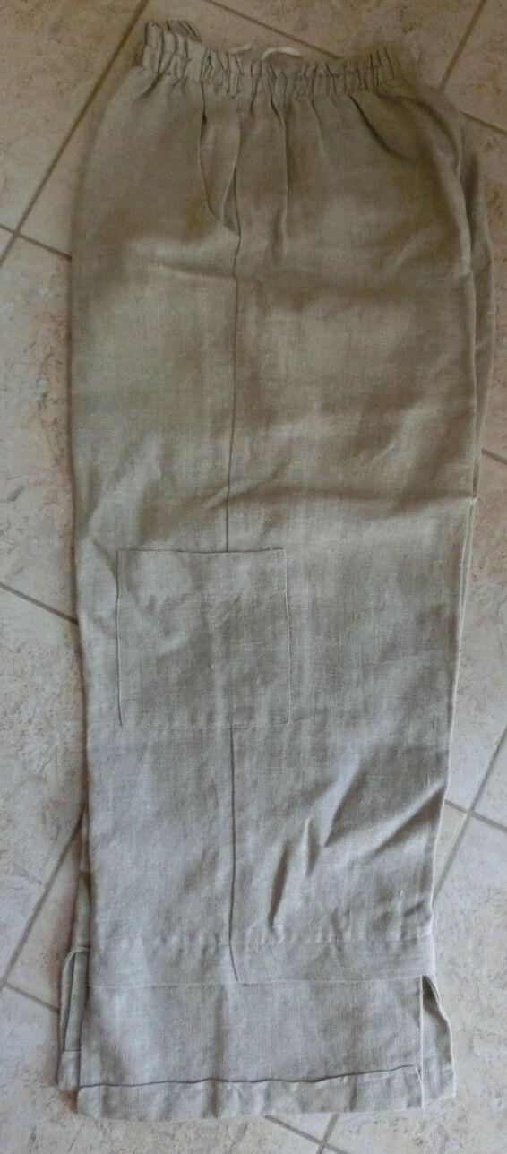Pantaloni LINO MIS. 1 40 42 44 46 giro vita (72 - 80 cm) Inverno Autunno giorni freddi