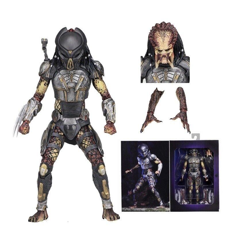 New NECA Aliens vs Predator Ultimate Fugitive Predator Unmasked Scarface Scarface Scarface Toy 81a230