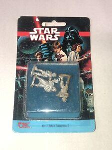 Grenadier Star Wars Minis for West End Games REBEL COMMANDOS Sealed in Pack !!