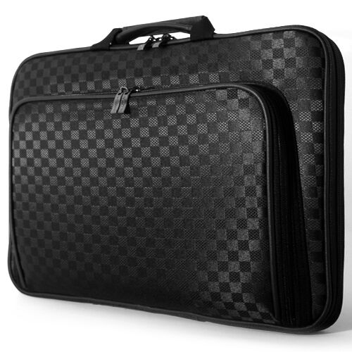 "Dell Latitude 15 E6500 E6510 15/"" 15.6/"" Laptop Case Memory Foam Bag Checked a"