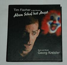 CD/TIM FISCHER/MUSICAL/ADAM HAT ANGST/GEORG KREISLER/Buch-Cover 88697044612