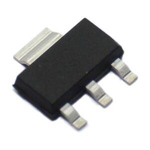 5 st Transistor NPN; bipolar; 400V; 1,5A; 1,6W; SOT223