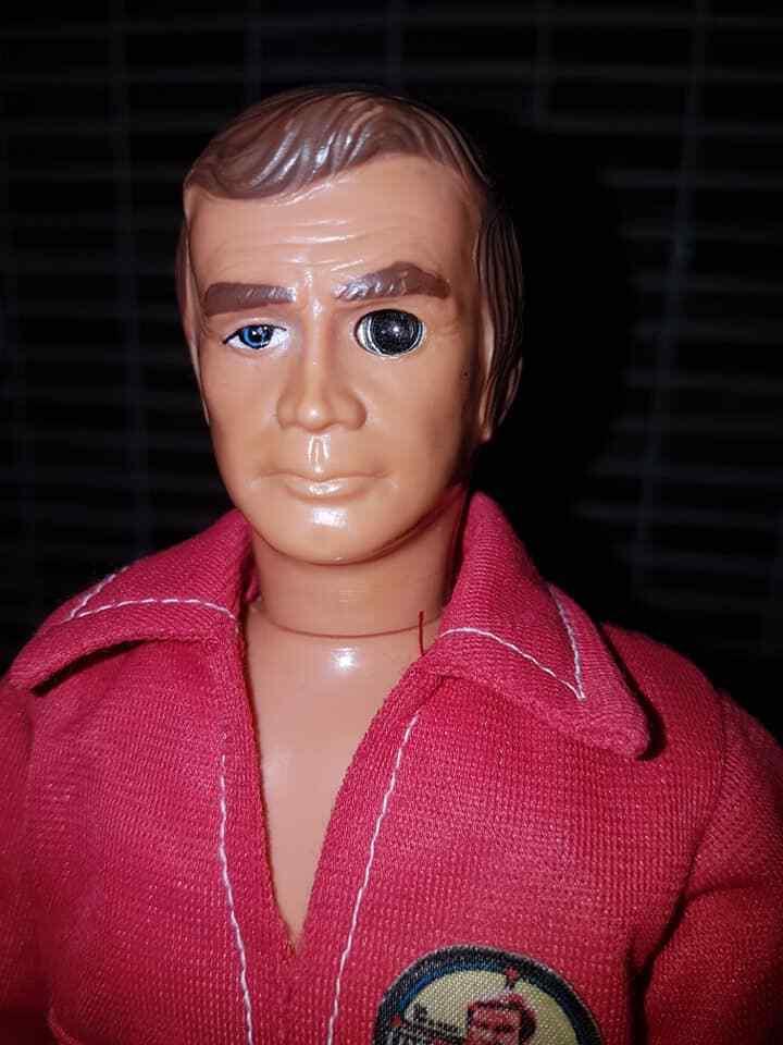Six Million Dollar Man Bionic action figures Kenner 1977 Sasquatch Lee Vintage