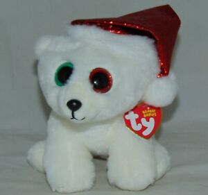 Ty Beanie Boos NEW MWMT Canada Exclusive NANOOK NANUQ the Polar Bear 6/""