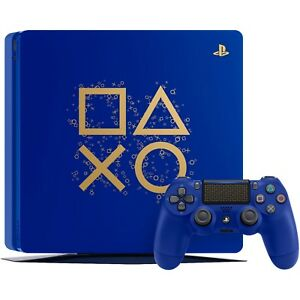 Sony PlayStation 4 1TB Limited Edition Blue Days of Play Video Game Console