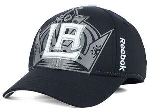 Los-Angeles-Kings-LA-Kings-Reebok-M571Z-NHL-Stadium-Series-Flex-Hockey-Cap-Hat