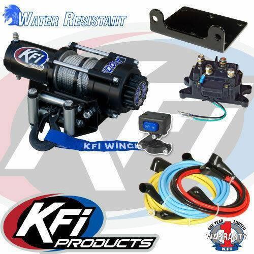 KFI 2500LBS Winch Kit /& Winch Mount For 2014-2019 Honda TRX420FE Rancher ES