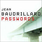 Passwords by Jean Baudrillard (Paperback, 2003)