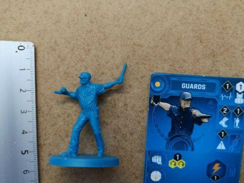 CARD //KICKSTARTER BATMAN GOTHAM  CITY CHRONICLES G103 GUARDS MINIATURE