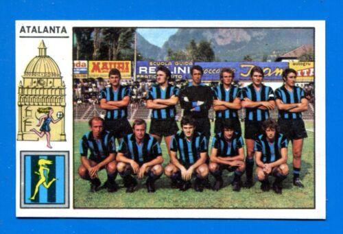 Rec CALCIATORI PANINI 1971-72 ATALANTA SQUADRA Figurina-Sticker