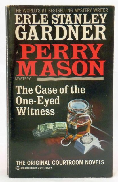 #BD, ERLE STANLEY GARDNER The Case of the One-Eyed Witness - Softcover