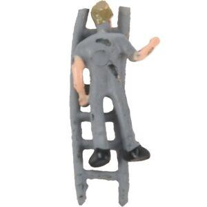 25pcs-1-87-Figurines-Peintes-Figures-Miniatures-des-Travailleurs-Ferroviaire-b1n