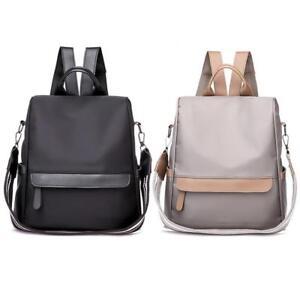 Anti-theft-Waterproof-Women-Nylon-Backpack-Travel-Rucksack-Shoulder-School-Bags