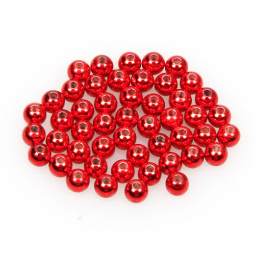 Tungsten 50pc//lot Fly Tying Beads Colorful Nymph Head Ball Bead Fly Fishing Bead
