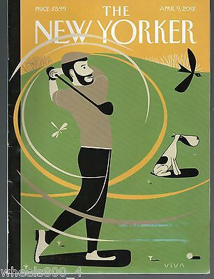 "The New Yorker Magazine April 9, 2012 ""A Whiff of Cool Air"" by Frank Viva  Exc."