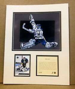 Buffalo Sabres Grant Fuhr 1994 Hockey 11x14 MATTTED Kelly Russell Print