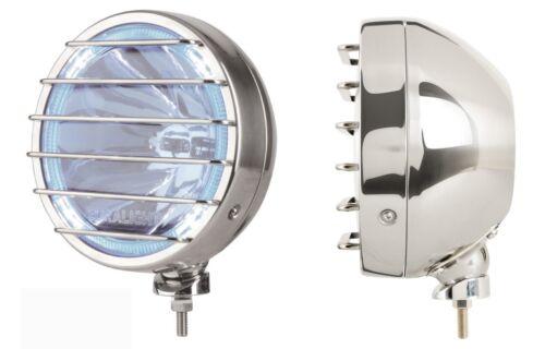 Fernscheinwerfer blau 12V+LED Ring  Dodge Nitro LEDStandlicht Edelstahl E-Proof