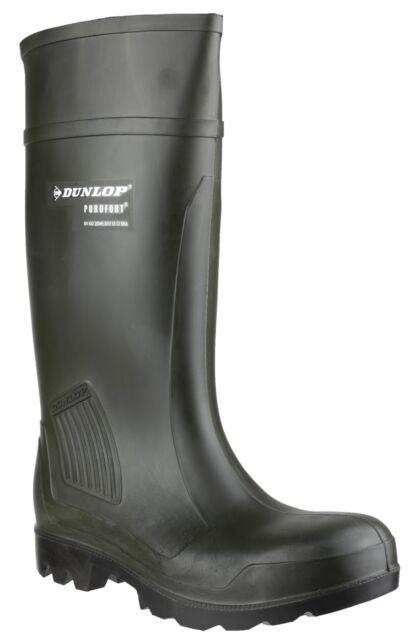 Dunlop Stivali di sicurezza in gomma lavoro Uomo Purofort S534751 misura 38