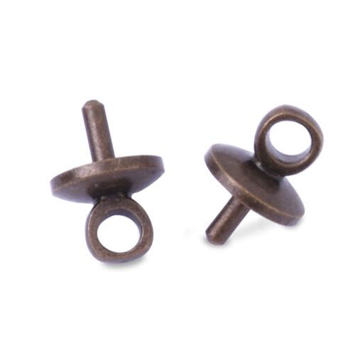 5mm buckle Clasps cap for the mini glass ball Glass Cap Buckle 10pcs