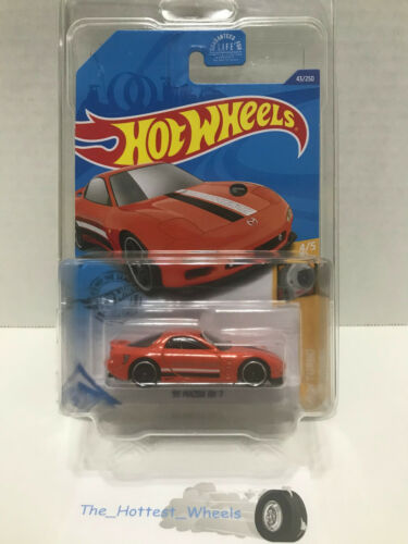 2020 HOT WHEELS #43//250 /'95 MAZDA RX-7 #4//5 HW TURBO ORANGE MAZDA SPEED