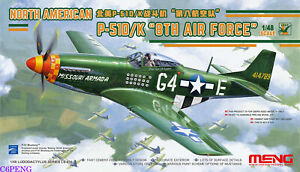 MENG-LS-010-1-48-NORTH-AMERICAN-P-51D-K-034-8TH-FORCE-034-LUDODACTYLUS-Fighter-MODEL