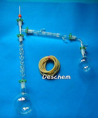1000ml,24/40,Distillation Apparatus,Lab Glassware kit,W/200mm Vigreux column