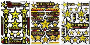 Rockstar-Energy-Extreme-Sport-Motocross-Helmet-ATV-MTB-BMX-Graphic-Kits-Stickers